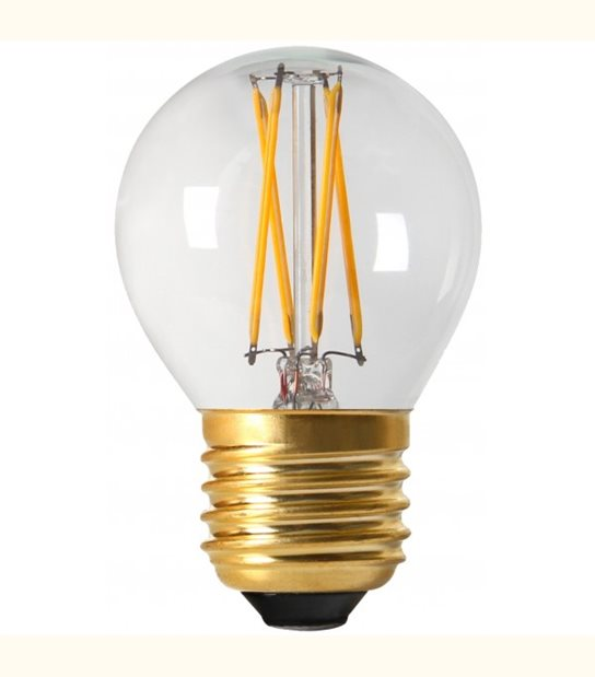 Filament LED G45 E27 4 watt (eq. 35 watt) GIRARD SUDRON - Couleur - Blanc neutre 4000°K, Finition - Claire - OLD-LEDFLASH - siageo-led.com
