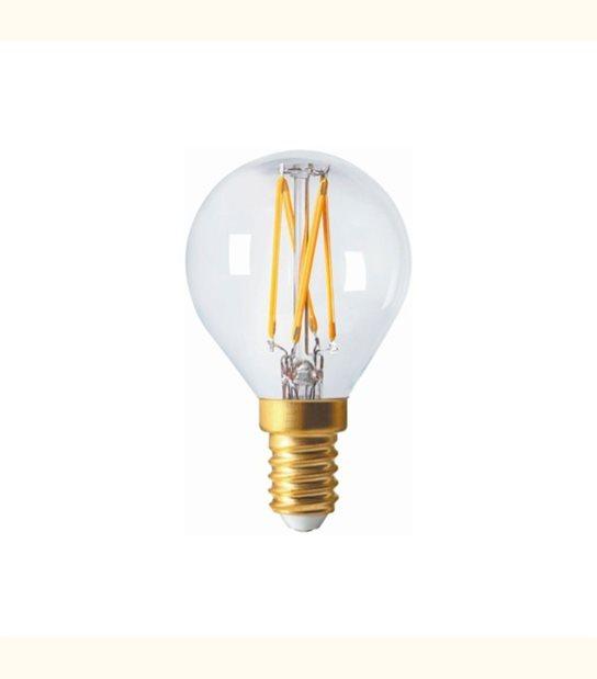 Filament LED G45 E14 4 watt (eq. 35 watt) GIRARD SUDRON - Couleur - Blanc neutre 4000°K, Finition - Claire - OLD-LEDFLASH - siageo-led.com