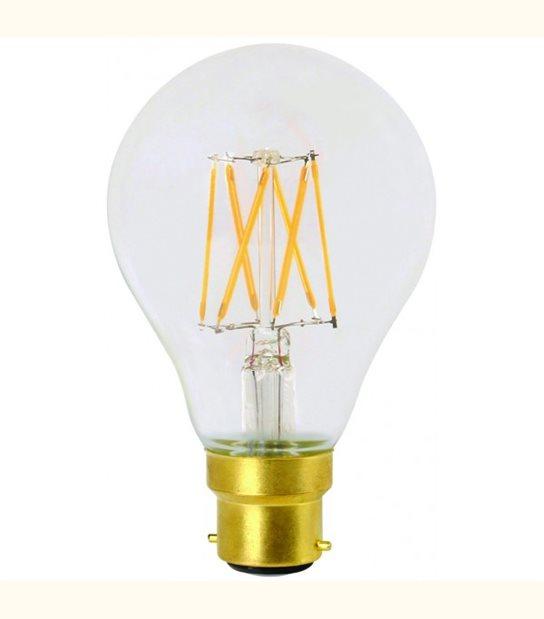 Filament LED A70 B22 8 watt (eq. 100 watt) GIRARD SUDRON - Couleur - Blanc chaud 2700°K, Finition - Claire - OLD-LEDFLASH - siageo-led.com