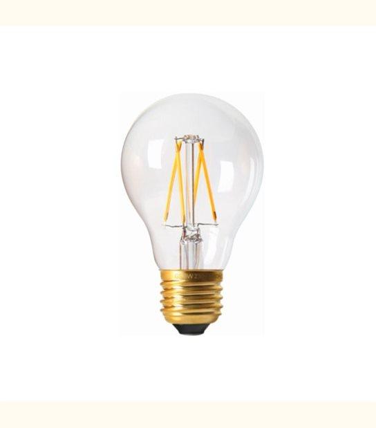 Filament LED A60 E27 8 watt (eq. 90 watt) GIRARD SUDRON - Couleur - Blanc neutre 4000°K, Finition - Claire - OLD-LEDFLASH - siageo-led.com