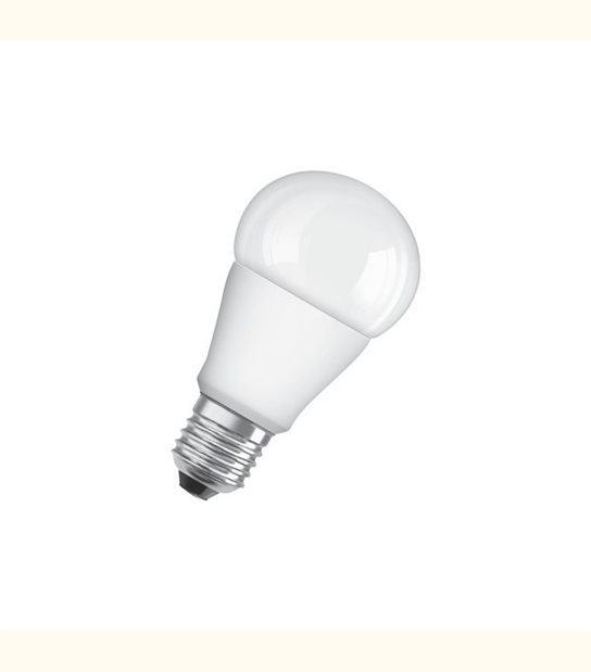 Ampoule led Standard E27 9 watt (eq. 60 watt) Dimmable Superstar OSRAM - Couleur - Blanc chaud 2700°K, Finition - Dépolie - OLD-LEDFLASH - siageo-led.com