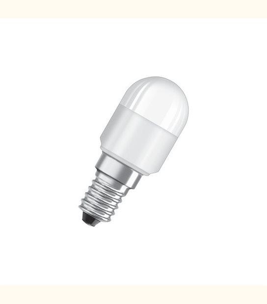 Ampoule led Flamme E14 2,3 watt (eq. 20 watt) Star OSRAM - frigo ou hotte - Couleur - Blanc froid 6500°K, Finition - Dépolie - OLD-LEDFLASH - siageo-led.com