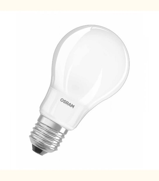 Ampoule led Standard E27 5 watt (eq. 40 watt) Retrofit OSRAM - Couleur - Blanc chaud 2700°K, Finition - Dépolie - OLD-LEDFLASH - siageo-led.com