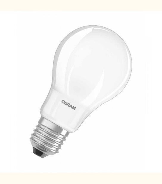 Ampoule led Standard E27 5 watt (eq. 40 watt) Retrofit OSRAM - Couleur - Blanc neutre 4000°K, Finition - Dépolie - OLD-LEDFLASH - siageo-led.com