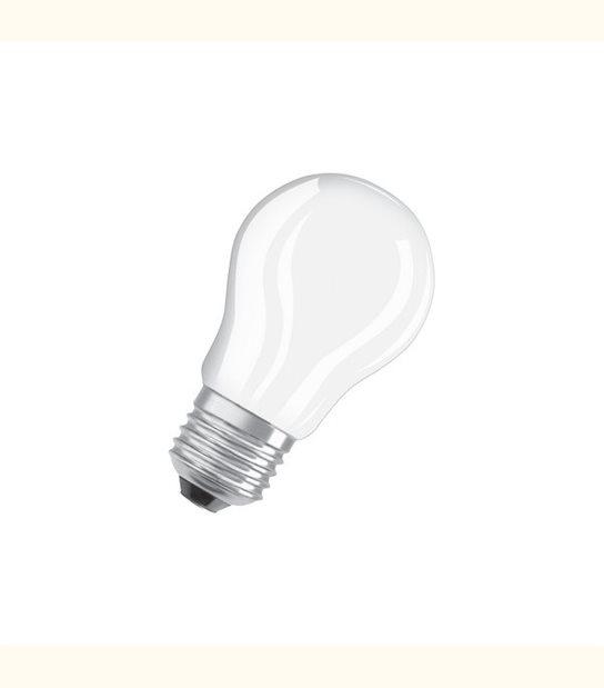 Ampoule led Sphérique E27 4 watt (eq. 40 watt) Retrofit OSRAM - Couleur - Blanc chaud 2700°K, Finition - Dépolie - OLD-LEDFLASH - siageo-led.com
