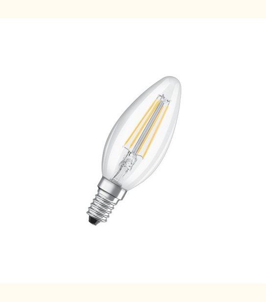 Ampoule led Flamme E14 2 watt (eq. 23 watt) Retrofit OSRAM - Couleur - Blanc chaud 2700°K, Finition - Claire - OLD-LEDFLASH - siageo-led.com