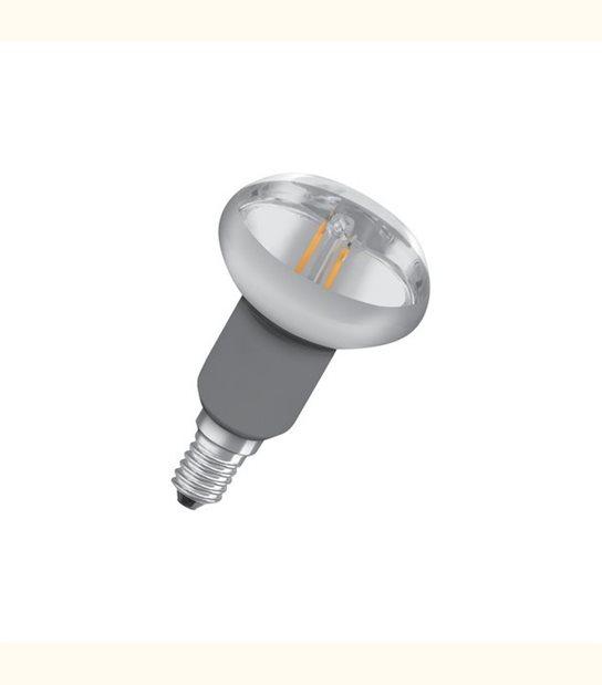 Ampoule led Réflecteur E14 R50 2 watt (eq. 16 watt) Retrofit OSRAM - Couleur - Blanc chaud 2700°K, Finition - Claire - OLD-LEDFLASH - siageo-led.com