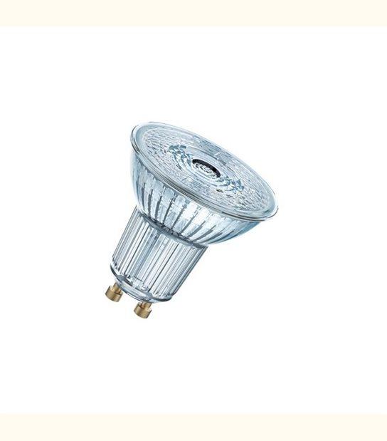 Ampoule led Réflecteur GU10 4,6 watt (eq. 50 watt) Dimmable Superstar OSRAM - Couleur - Blanc chaud 2700°K - OLD-LEDFLASH - siageo-led.com