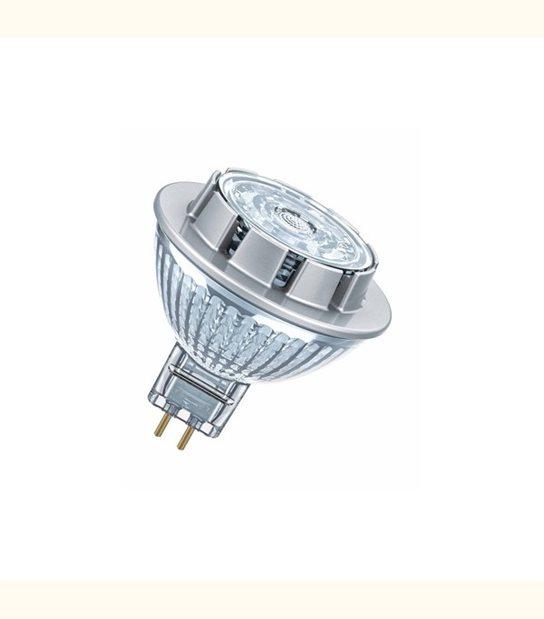 Ampoule led Réflecteur GU5.3 7,8 watt (eq. 50 watt) Dimmable Superstar OSRAM - Couleur - Blanc chaud 2700°K - OLD-LEDFLASH - siageo-led.com