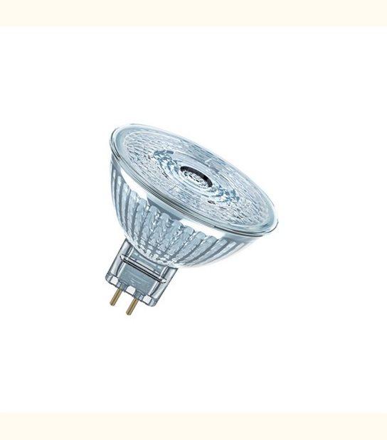 Ampoule led Réflecteur GU5.3 3 watt (eq. 20 watt) Dimmable Superstar OSRAM - Couleur - Blanc chaud 2700°K - OLD-LEDFLASH - siageo-led.com