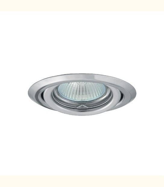 Support spot rond orientable 99 mm (5 couleurs au choix) - Finition - Chromé - OLD-LEDFLASH - siageo-led.com