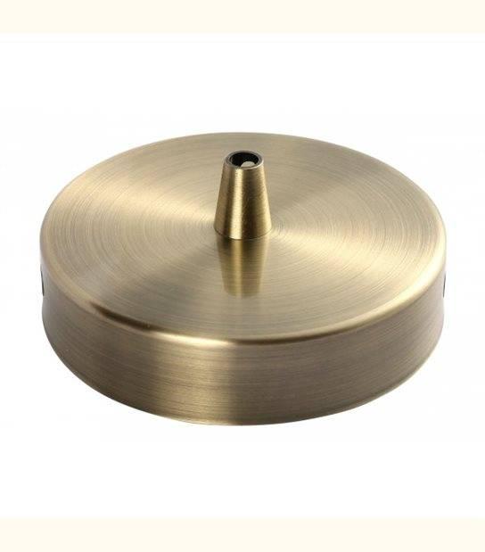 Patère de fixation acier plafond pour suspension - DIY - Couleur - Bronze - OLD-LEDFLASH - siageo-led.com