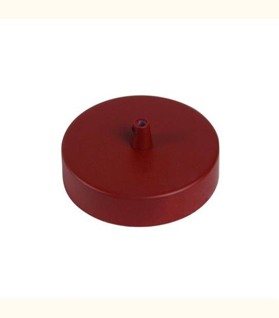 Patère de fixation acier plafond pour suspension - DIY - Couleur - Brique Mat - OLD-LEDFLASH - siageo-led.com
