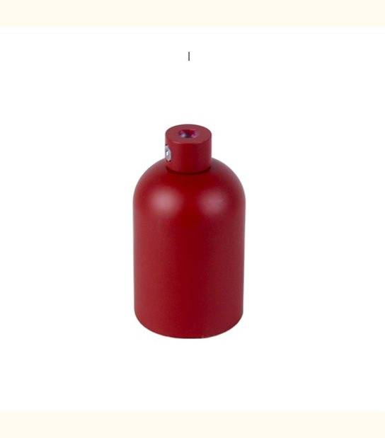 Douille aluminium E27 pour suspension - DIY - Couleur - Brique Mat - OLD-LEDFLASH - siageo-led.com