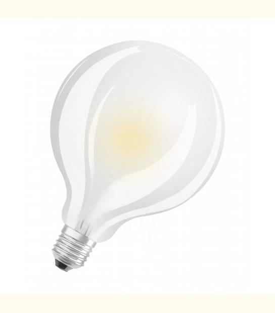 Ampoule LED E27 Globe 95mm LED verre dépoli 11 watt (eq. 100 watt) blanc chaud - OLD-LEDFLASH - siageo-led.com