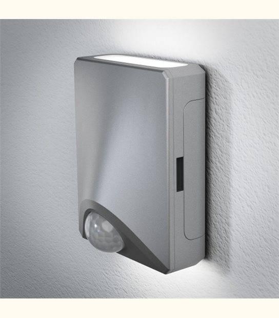 Luminaire à Piles extérieur DoorLED UpDown - IP54 - Finition - Argent - OLD-LEDFLASH - siageo-led.com