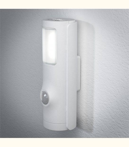 Luminaire à Piles NIGHTLUX Torche - IP54 - Finition - Blanc - OLD-LEDFLASH - siageo-led.com