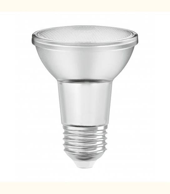 Ampoule LED E27 PAR20 36° verre dimmable 5 watt (eq. 50 watt) E27 blanc chaud - OLD-LEDFLASH - siageo-led.com