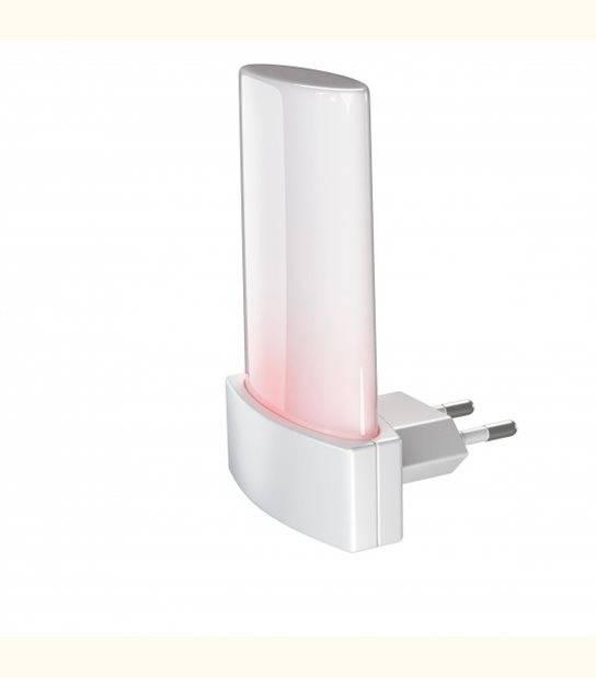 Veilleuse prise LUNETTA Shine - Couleur - Blanc chaud 2700°K - OLD-LEDFLASH - siageo-led.com