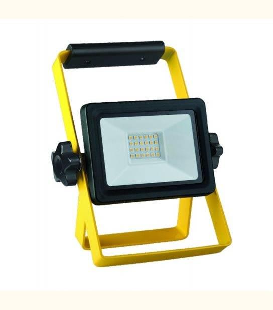 Projecteur LED chantier 20 watt IP65 - 4000°K - OLD-LEDFLASH - siageo-led.com