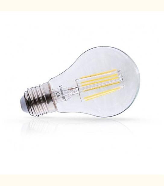 Ampoule LED E27 Filament 4W - Couleur - Blanc chaud 2700°K, Finition - Claire - OLD-LEDFLASH - siageo-led.com