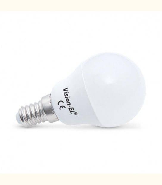Ampoule LED 6 Watt P45 Bulb E14 Dimmable - Couleur - Blanc chaud 3000°K - OLD-LEDFLASH - siageo-led.com