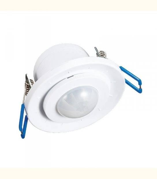 Detecteur De Mouvement Infra Rouge LED Encastrable 360° - OLD-LEDFLASH - siageo-led.com