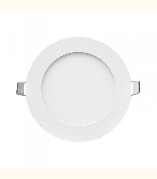 LED Plafond Diam 120 6 Watt Blanc - Couleur - Blanc chaud 3000°K - OLD-LEDFLASH - siageo-led.com