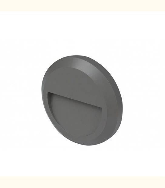 Applique led extérieur circulaire TWILIGHT - 2 watt - IP65 - OLD-LEDFLASH - siageo-led.com