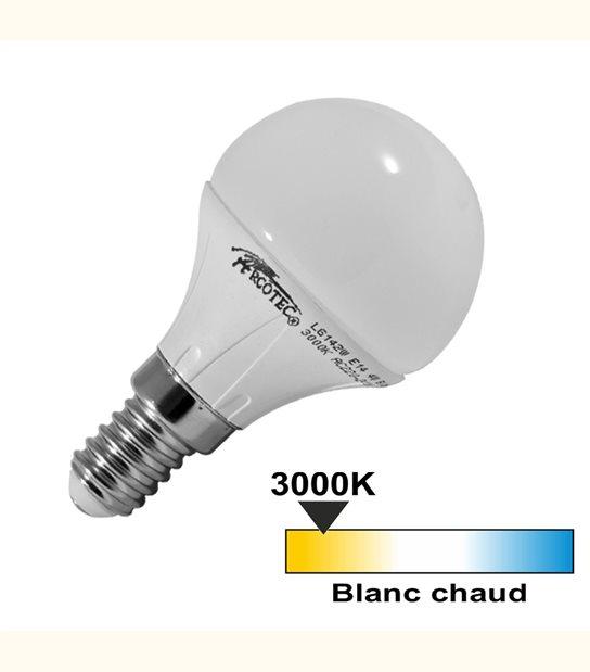 Ampoule led E14 4 watt (eq. 30 watt) - OLD-LEDFLASH - siageo-led.com