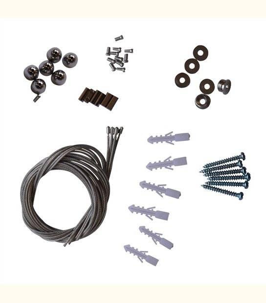Kit De Suspension Dalle 6 Cables - OLD-LEDFLASH - siageo-led.com