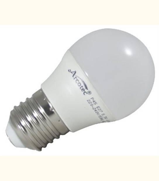 AMPOULE LED SPHÉRIQUE E14 5.5W 470LM 3000K - OLD-LEDFLASH - siageo-led.com